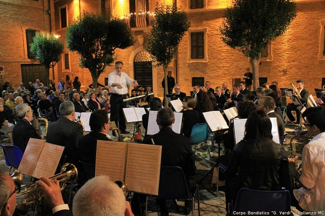 Pollenza concerto estivo dedicato Patrono 22 giugno