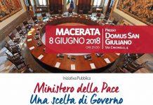 Ministero della Pace una scelta di Governo seminario Macerata