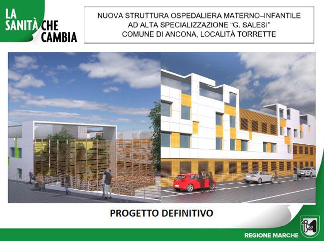 Ancona Nuovo Salesi progetto
