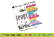 Giornata nazionale Lo sport che vogliamo
