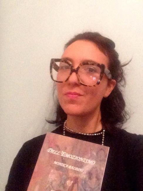 Monica Baldini e libro