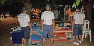 La Guardia Costiera sequestra attrezzature balneari sulla spiaggia di Porto Sant'Elpidio