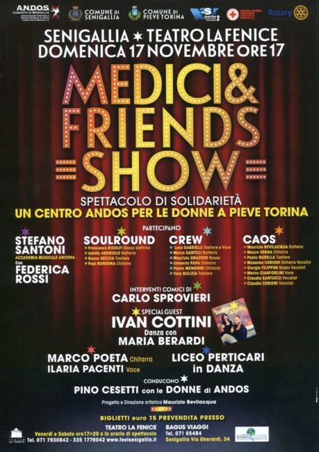 "Senigallia, da ""Medici & friends show"" la solidarietà per Pieve Torina - Marche News 24"