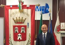 Il sindaco di Camerino, Sandro Sborgia