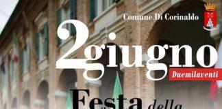 festa repubblica corinaldo 2 giugno 2020