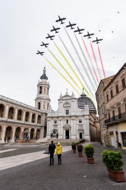 frecce tricolori loreto marche