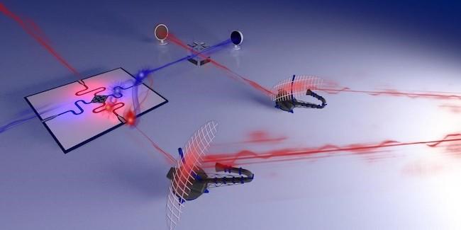 illustrazione prototipo radar quantistico