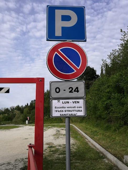 parcheggio elisuperificie disposizione operatori sanitari