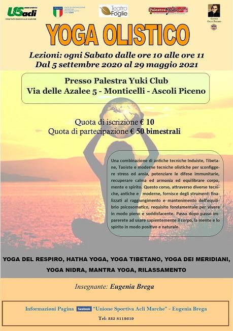 Yoga Ascoli Yuki 2020 Settembre 2020_Maggio 2021