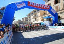 Giro delle Marche in Rosa 06092020 Offida - partenza gara junior