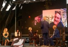 Marco Ardemagni con gli ospiti sul palco del Camerino MeravigliaDays