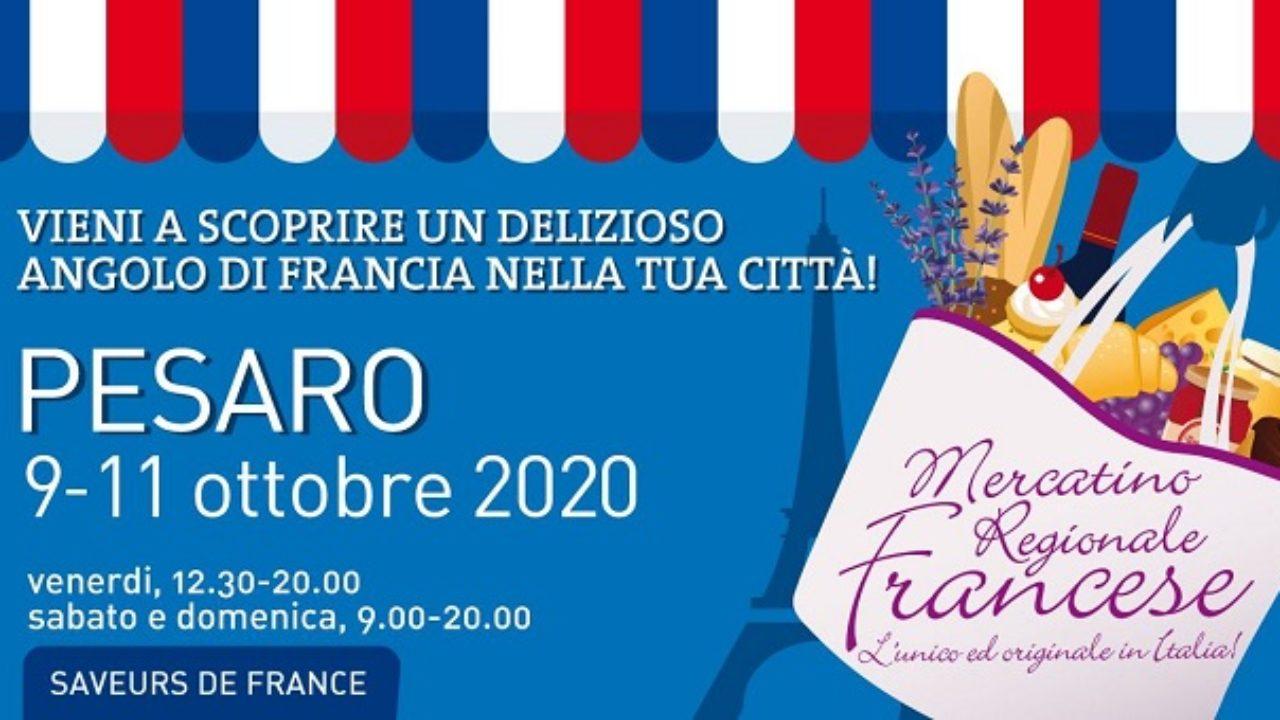 A Pesaro torna il Mercatino Regionale Francese: ecco quando