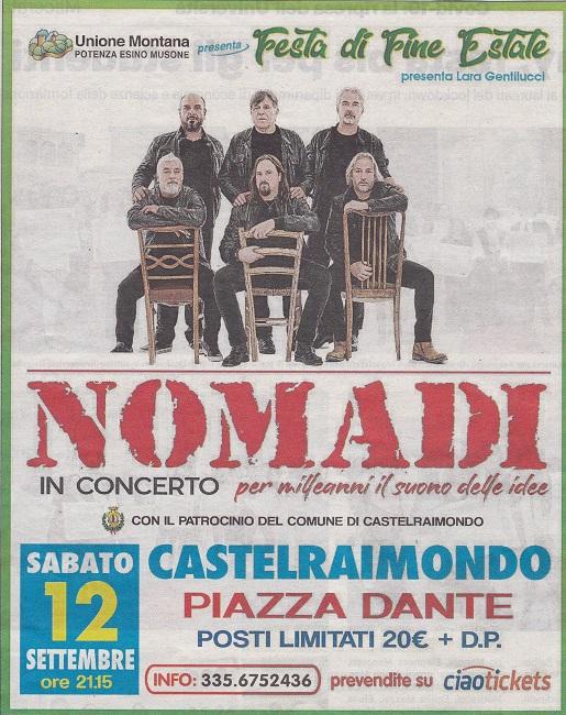 nomadi 13 settembre