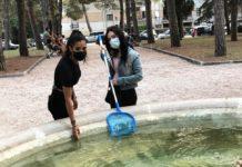 pulizia fontana jesi