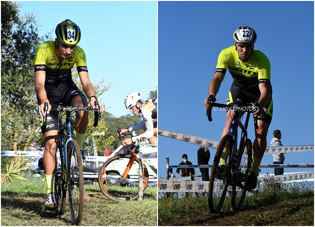 Ciclocross Aprilia 25112020 Torcianti e Totò Bici Adv Team