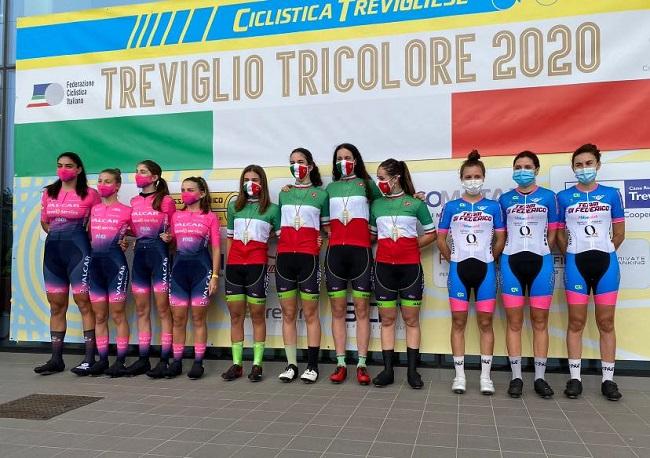Team Di Federico terzo posto tricolore crono