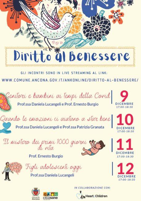 Ancona Diritto Al Benessere Ciclo Di Incontri In Diretta Streaming