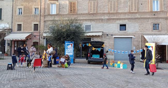 bibliomacchina piazza mazzini